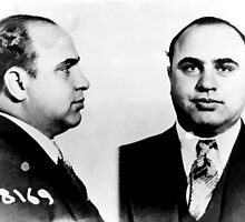 Al Capone Mug Shot by Edward Fielding