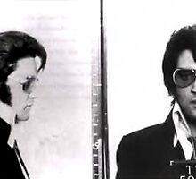 Elvis Mug Shot by Edward Fielding