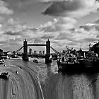 River Thames Waterfall by DavidHornchurch
