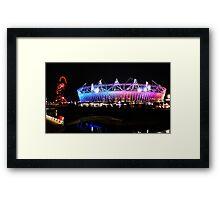 London 2012 Olympic Park Framed Print