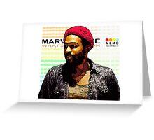ODE TO MOTOWN: MARVIN GAYE Greeting Card