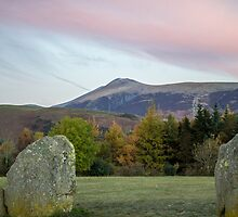 Sunrise over Castlerigg Stone Circle (3) by walksindreams