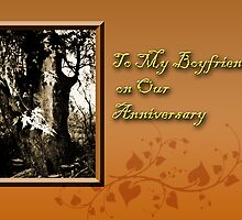 To My Boyfriend On Our Anniversary Willow Tree by jkartlife