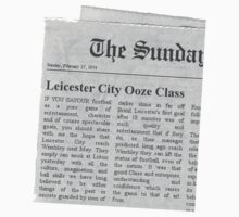 Sunday Times Match Report 1974 by bentleysroof