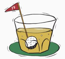 Golf 19th Hole by SportsT-Shirts