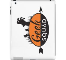 Geek Elimination Squad iPad Case/Skin
