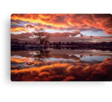 Rolling Thunder Sunset Canvas Print