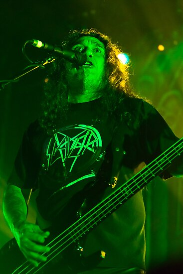 Tom Araya of Slayer by HoskingInd