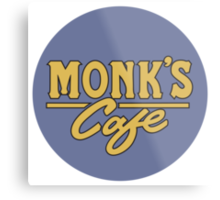 """Monk's Cafe - as seen on """"Seinfeld"""" Metal Print"""