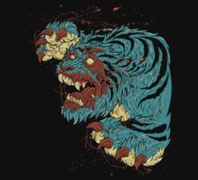 ZOMBIE TIGER by SmittyArt