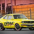 Luke Eberhart's Mazda RX3 Coupe by HoskingInd