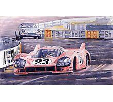 Porsche 917-20 Pink Pig Le Mans 1971 Joest Reinhold Photographic Print