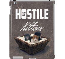 Hostile 17 Owes Me Kittens (grungy) iPad Case/Skin