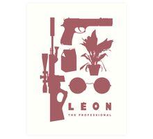 Leon - Minimal  Art Print