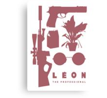 Leon - Minimal  Canvas Print