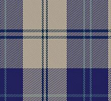 00427 Alisa Royal Blue Tartan Fabric Print Iphone Case by Detnecs2013