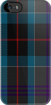 00448 Beauty Firth and Glens Tartan Fabric Print Iphone Case by Detnecs2013