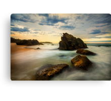 Sunset Sunday Canvas Print