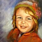 My granddaughter Mikayla ( age 3) by Ivana Pinaffo