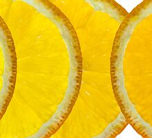 Refreshing Orange Slices by Natalie Kinnear