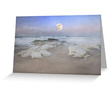 """Super Moon"" Greeting Card"