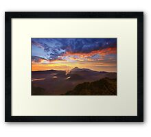 Sanctuary of the Gods Framed Print