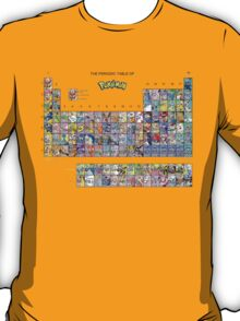 The Periodic Table Of Pokemon T-Shirt