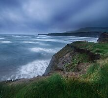 Storm clouds, Kimmeridge Bay, Dorset by muphotographic
