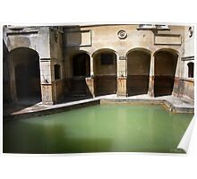Ancient Bath Poster
