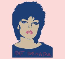 Pat Benatar T-Shirt by retrorebirth