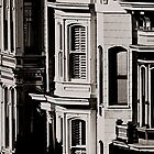 Row Houses San Francisco by Thomas Barker
