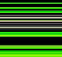 Green and Black Pattern 2 by JosePracek