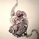 squid brain by Andrew  Cain