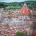 The Duomo of Florence by Teresa Dominici