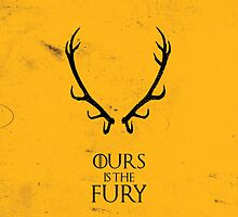 Ours is the Fury - Game of Thrones by MCellucci