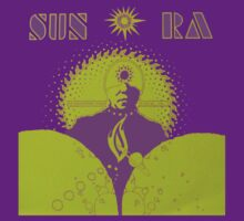 Sun Ra T-Shirt by retrorebirth