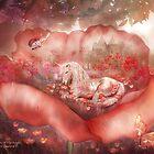 Unicorn Of The Poppies by Carol  Cavalaris