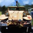 Rusty old truck by claire87