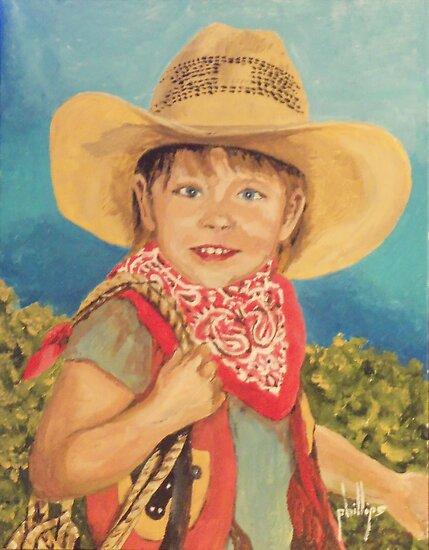 Howdy Partner by Jim Phillips