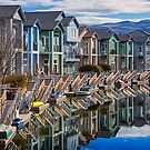 Condos and a Canal by homendn