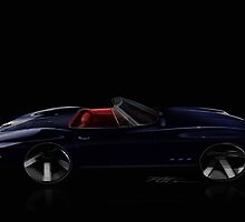 Old Stingray Corvette by vaka2