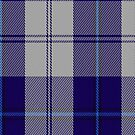 00478 Cunningham Dress Blue Dance Fashion Tartan Fabric Print Iphone Case by Detnecs2013
