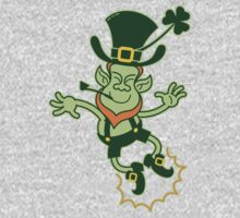 Irish Leprechaun Clapping Feet Kids Clothes