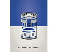 MY STAR WARHOLS R2D2 MINIMAL CAN POSTER Photographic Print