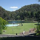 First Basin, Cataract Gorge by Glenn Bumford