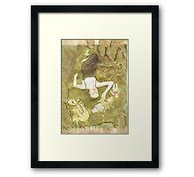 Pinocchio (Pretty porcelain skin) Framed Print