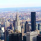 View from on top of the Empire State building by Jeanette Muhr