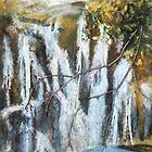Frozen Waterfall by Susan Duffey