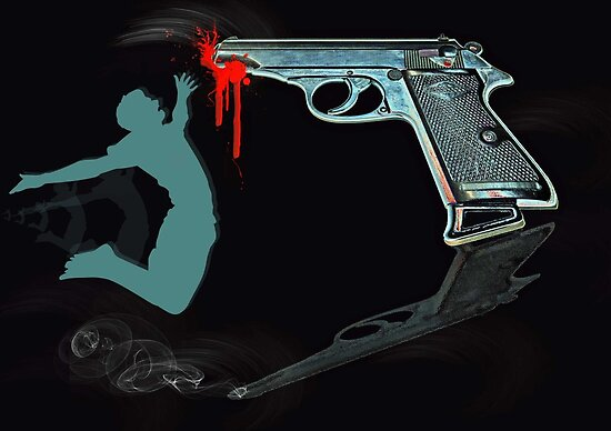 .....and yes, guns DO kill...... by Bine