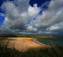 Broad Haven Skies by rennaisance